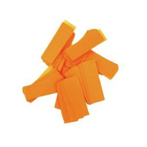 TCMFX SLOW FALL RECTANGULAR UV FLUO CONFETTI 55 X 17 mm